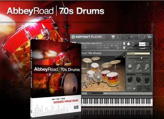 Native Instruments - Abbey Road 70s Drums